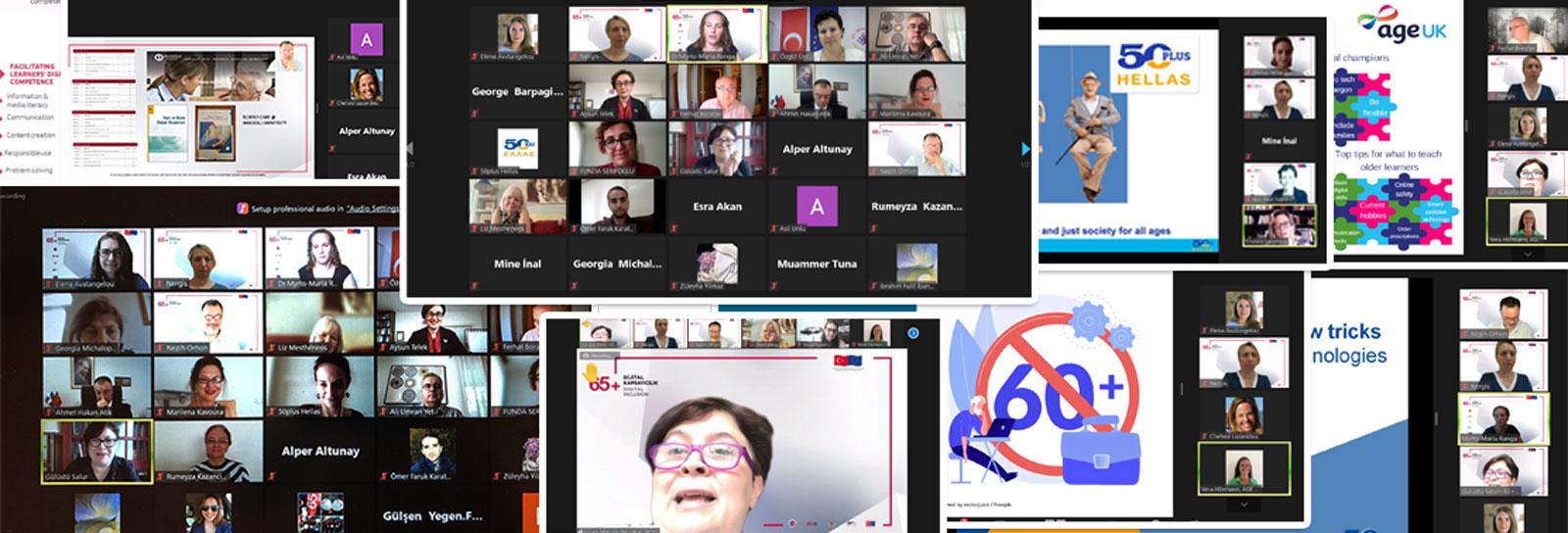 65+ Dijital Kapsayıcılık Projesi Atina Çalıştayı
